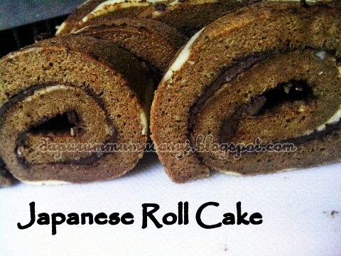 Cozy Kitchen : Japanese Roll Cake motif Jerapah versi ...