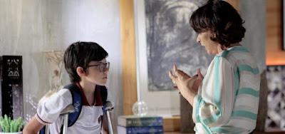 Ruth (Myrian Rios) revelará a Bento (Davi Campolongo) que pretende fazer um exame de DNA