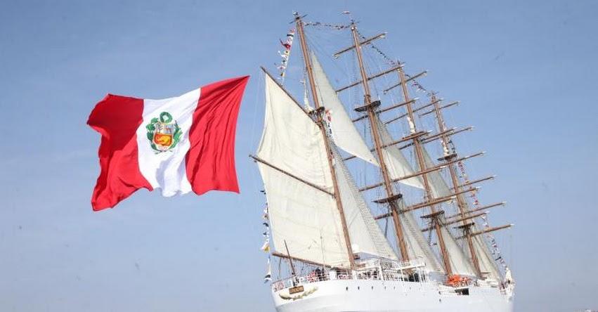 BAP Unión es el segundo velero más grande del mundo