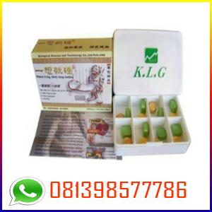KLG Pills Herbal Asli Obat Pembesar Penis Alami