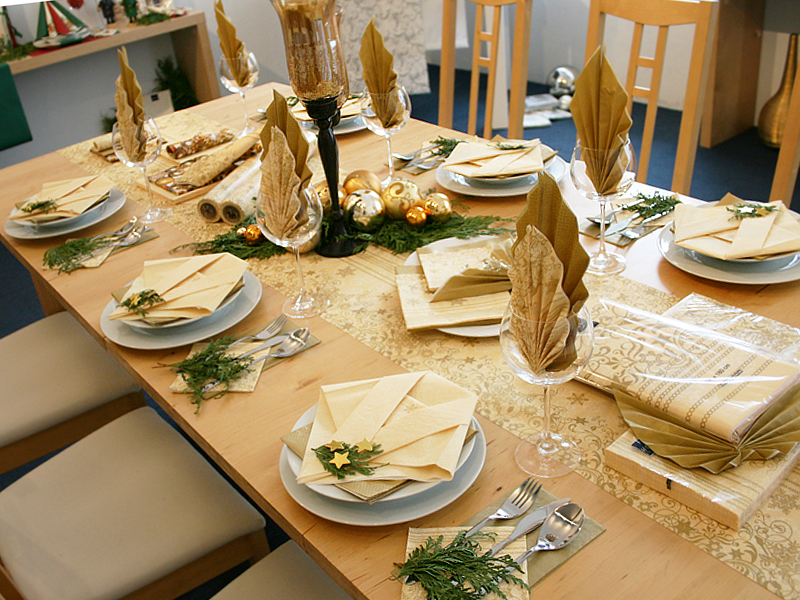 Christmas Table Decoration Home Fashion Servietten Und