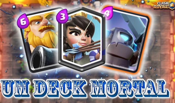 Deck mortal para arena 7 com gigante real princesa e mini for Deck pekka arene 7