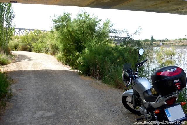 Puentes sobre el embalse del Vicario