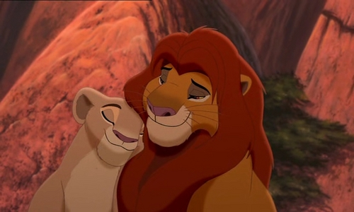 Fangirling with Abi Lion King Simba And Nala Cubs Kissing