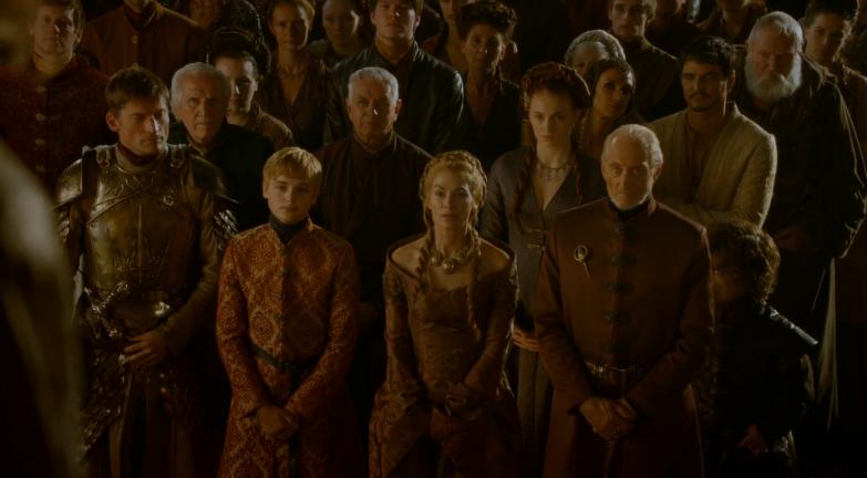 The Purple Wedding.Punch Drunk Critics Seven Kingdoms Scoop Game Of Thrones Recap