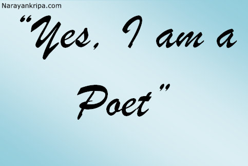 Image result for i am a poet poem