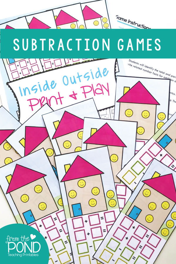 Subtraction and Addition Related Facts