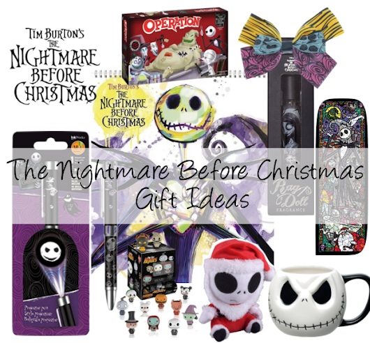 """The Nightmare Before Christmas"" Inexpensive Gift Ideas"