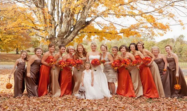 Chic Bridesmaid Dress: How to Choose Autumn Bridesmaid Dress