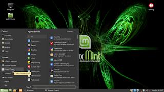 Setting Main Menu di Linux Mint
