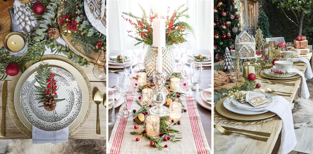 como decorar mesa de nochevieja estilo tradicional y clásico fácil y lowcost