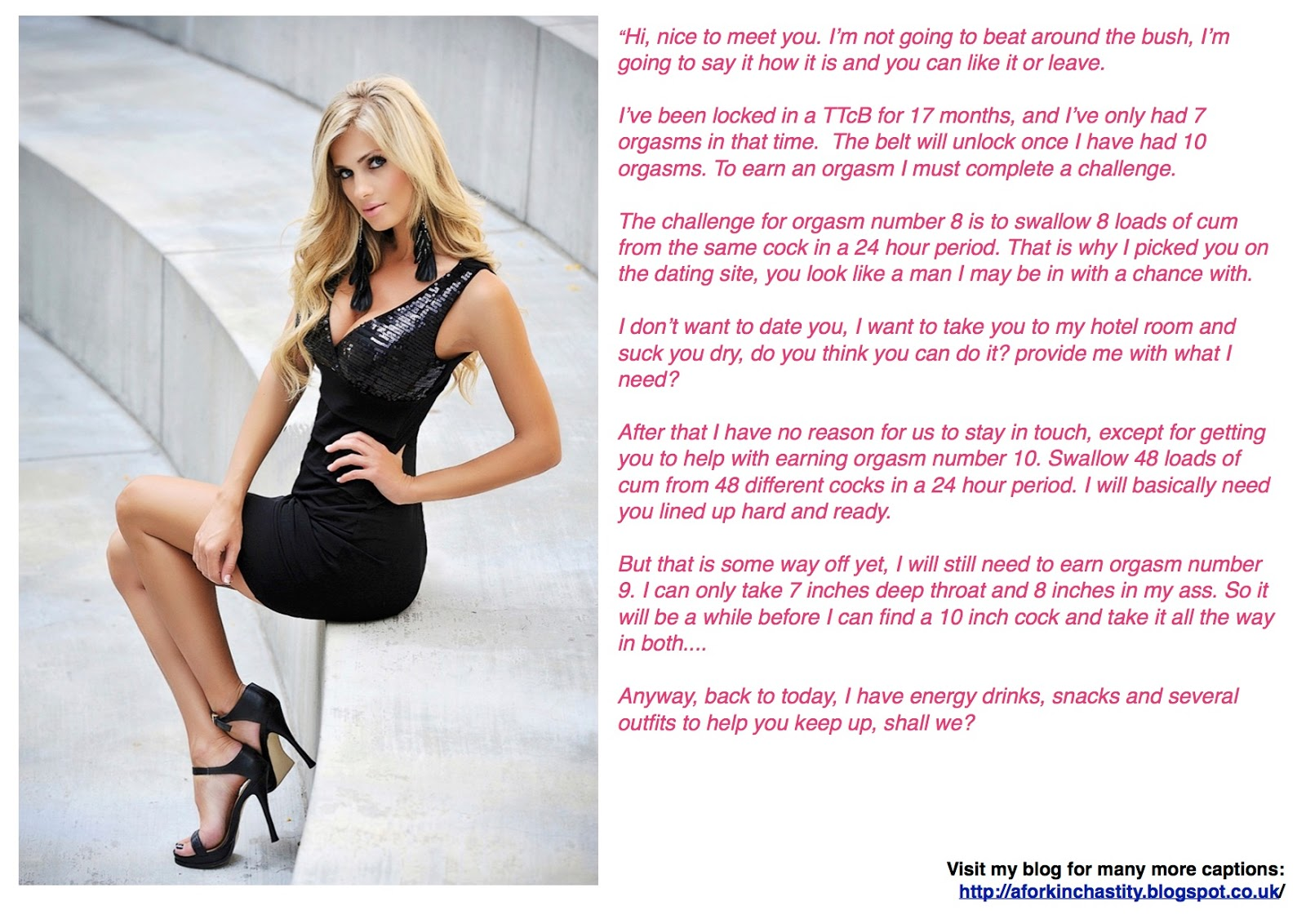 A Fork in the Road: Tales of T&D: Captions 551-553: Female
