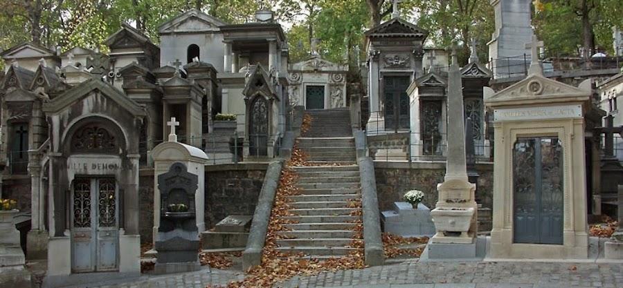 Père Lachaise Cemetery en París