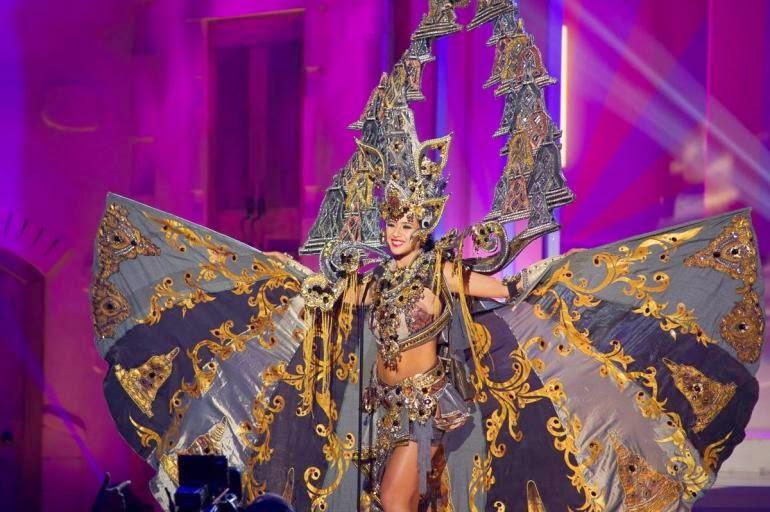 Chatter Busy: Miss Indonesia Elvira Devinamira Wins Best ...