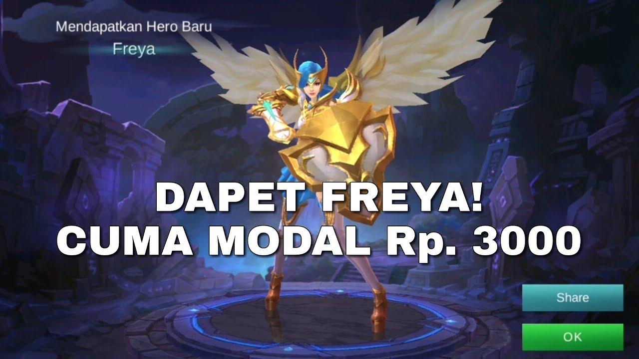 Cara Beli Hero Freya Dengan Diamond