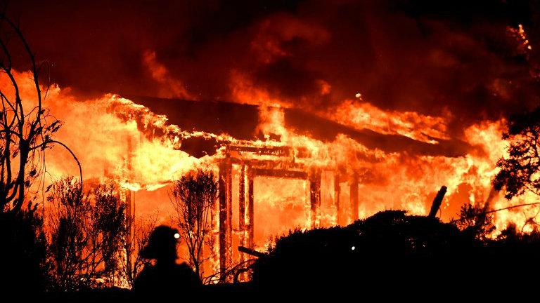 Entendo o por que dos incêndios desenfreados e secas na Califórnia e no mundo