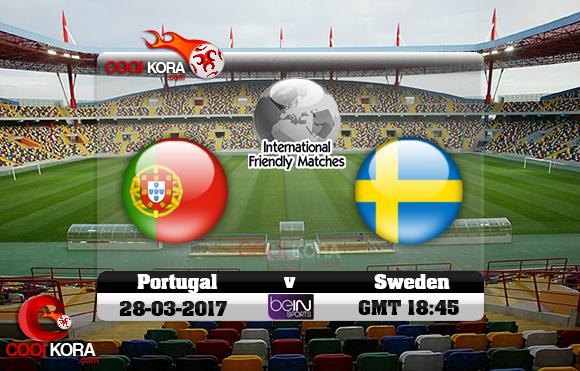 مشاهدة مباراة البرتغال والسويد اليوم 28-3-2017 مباراة ودية