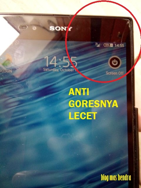 Anti Gores Tempered Glass Sony Xperia Z Ultra Tergores - Blog Mas Hendra