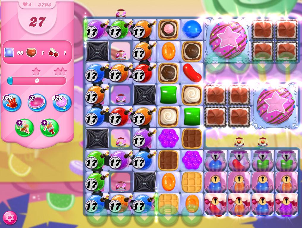 Candy Crush Saga level 3793