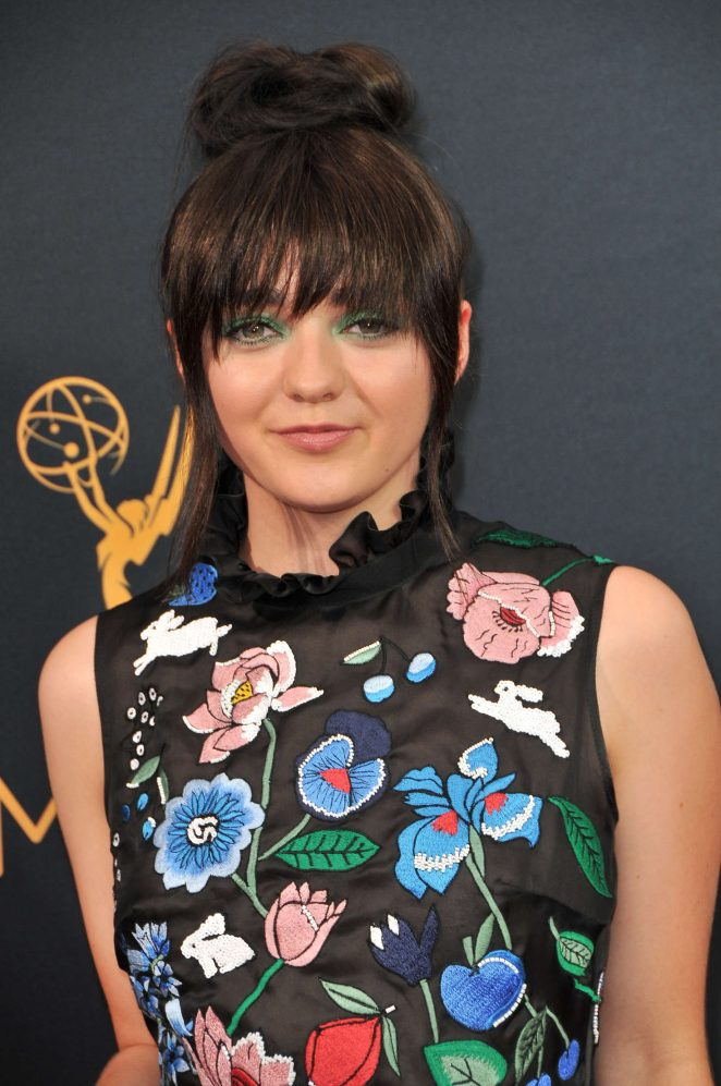 Maisie Williams – 2016 Emmy Awards in Los Angeles