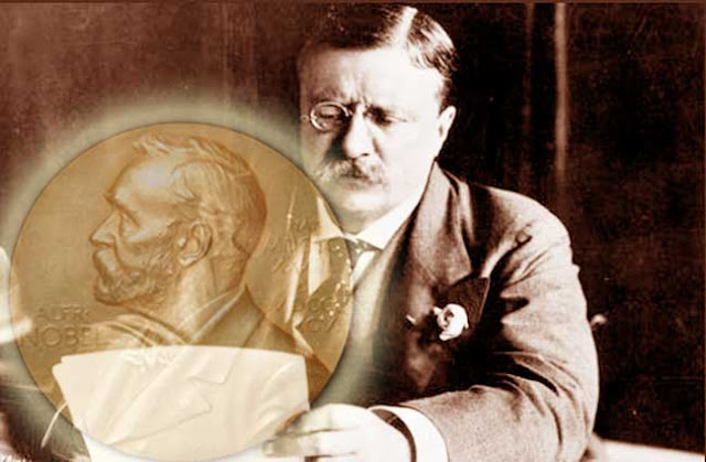 Theodore Roosevelt and Nobel Peace Prize in 1906