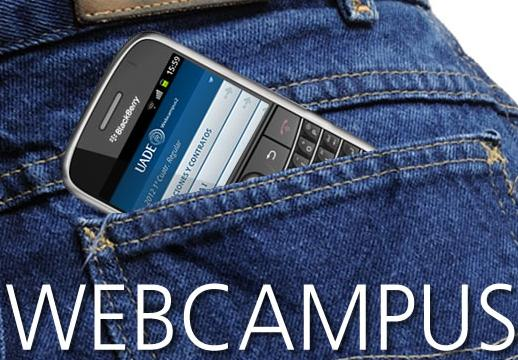 web campus uade para blackberry