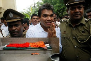 mattress For Namal Rajapaksa to Sleep inside in jail