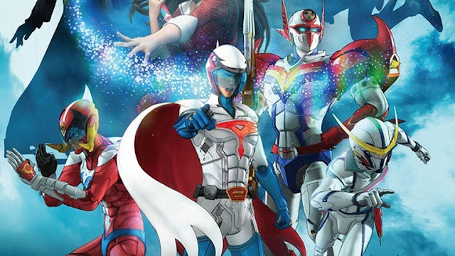 Infini-T Force the Movie Farewell Gatchaman My Friend