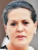 sonia gandhi and political scenario