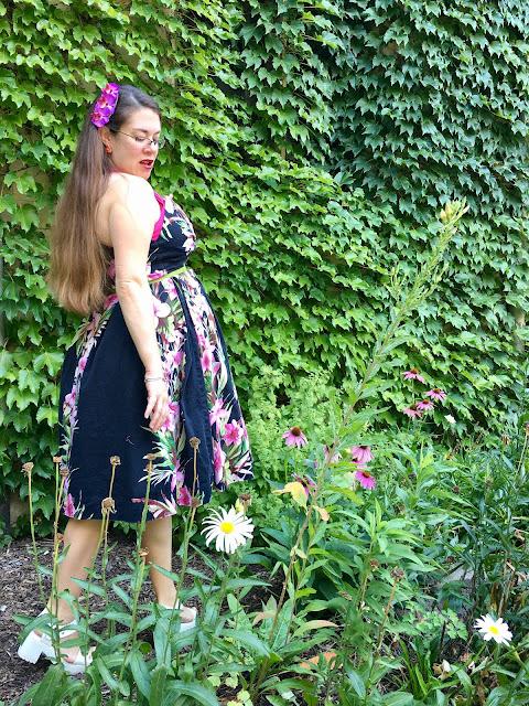 pinup girl clothing pele dress tiki