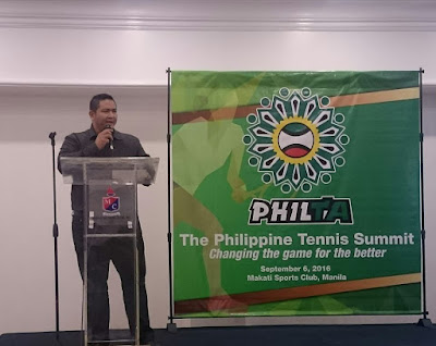 PhilTA Bared Plans At The Philippine Tennis Summit 2016