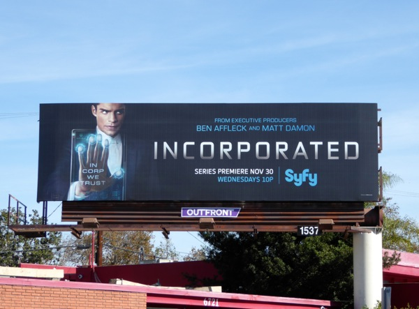 Incorporated series premiere billboard