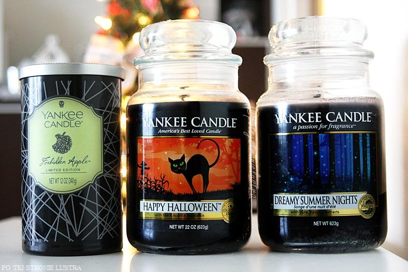 czarne świece zapachowe
