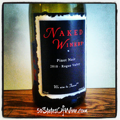 Naked Winery 2010 Pinot Noir
