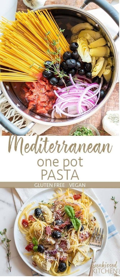Mediterranean One Pot Pasta