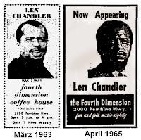Len Chandler 1963, 1965