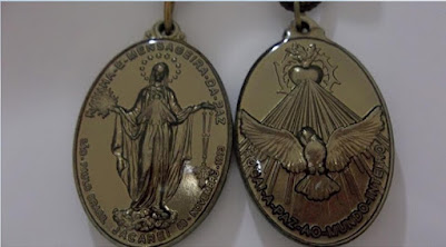 Jacarei, november, 8th, 1993 The Revelation of the Holy Medal of Peace