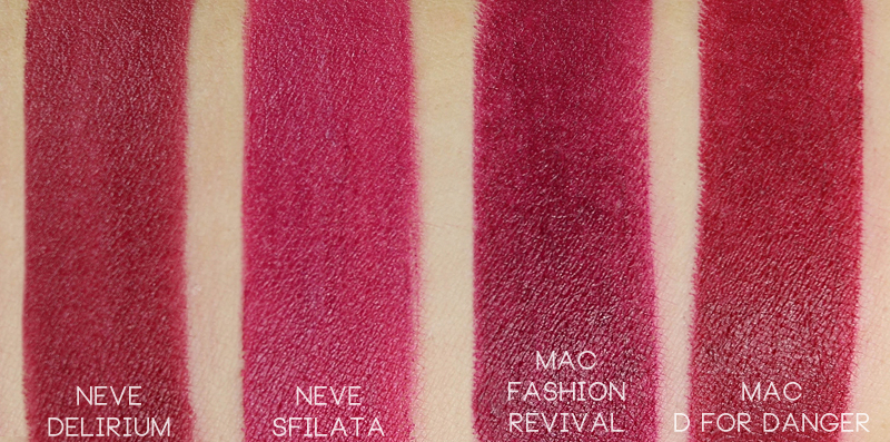 Neve Cosmetics Mutations Delirium swatch