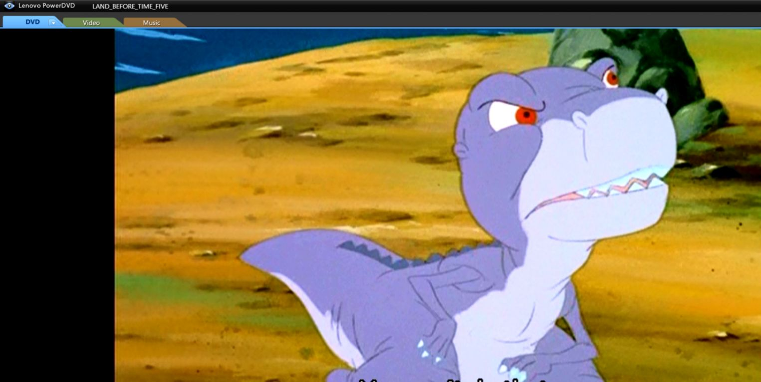 The Land Before Time 5 The Mysterious Island Chomper