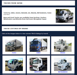 highly-regarded import and export company of trucks from Japan