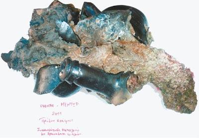 Υποβρύχια τομή στο ναυάγιο του Έλγιν