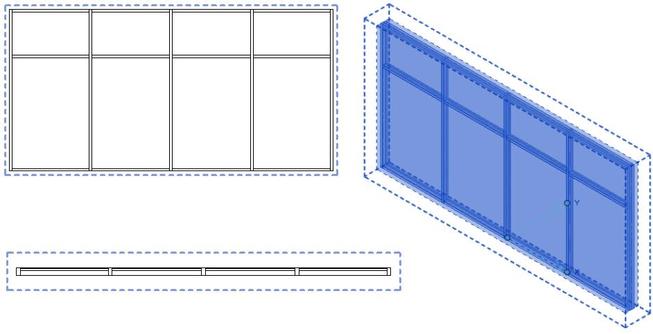 Creating Custom Curtain Wall Revit Homedesignview Co