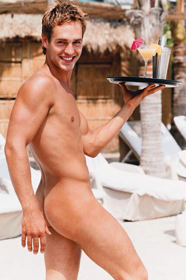 Nude Waiter 39