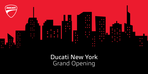Tigh Loughhead Ducati New York Grand Opening