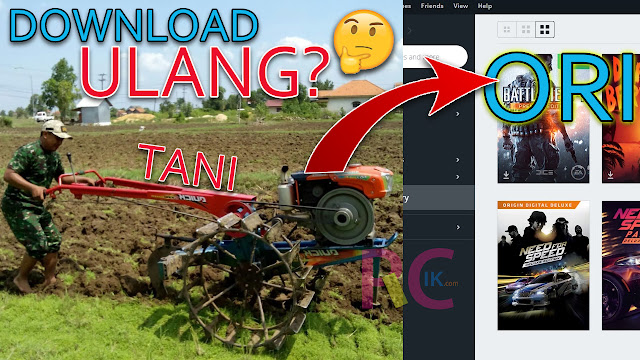 Cara Install Game Tani ke Game Original Supaya Tidak Download Ulang: Hemat Kuota | Tested Origins