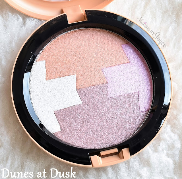 MAC Gleamtones Powder Dunes at Dusk Review