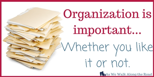 Why you need an organized homeschool