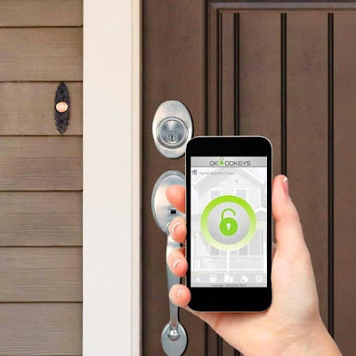 Control Your Home With Your Smartphone - Okidokeys Bluetooth 4.0 Smart Lock System