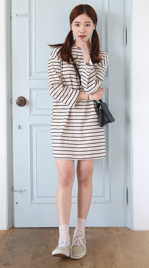 Long Sleeved Tee Dress