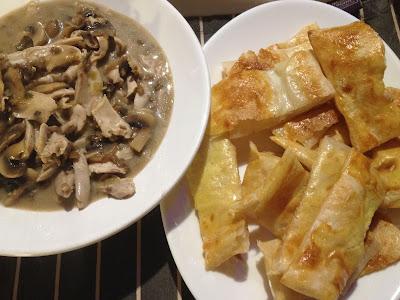 gluten free chicken mushroom pie